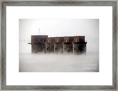 Towers Rising Framed Print