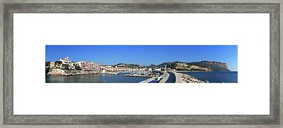 Town And Port, Cassis, Cape Scoundrel Framed Print