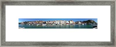 Town And Port, Cassis Framed Print