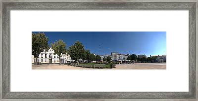 Town Hall, Colbert Square, Rochefort Framed Print