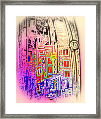 Dream Of Your Own Town House  Framed Print by Hilde Widerberg