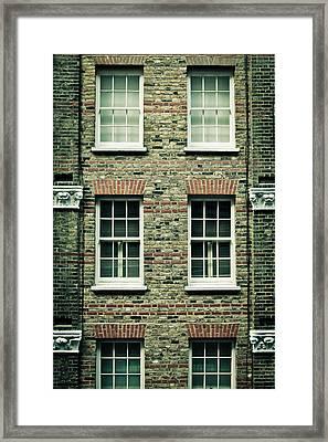 Town House Framed Print