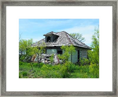 Town Meeting Hall Lost Framed Print by The GYPSY And DEBBIE