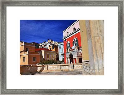 Town Of Hermes Framed Print