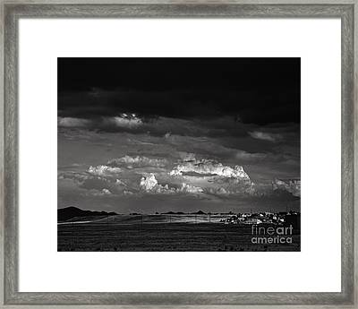 Towns End Framed Print