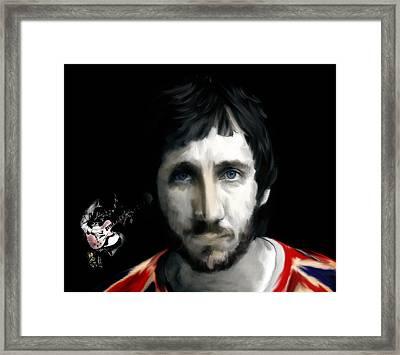 Townshend Pete Townshend Framed Print