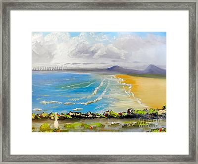 Towradgi Beach Framed Print