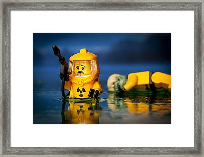 Toxic Dump Framed Print by Samuel Whitton
