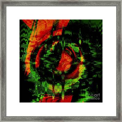 Toxic Relation Framed Print