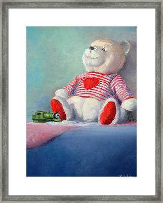Toy Bear #1 Framed Print by Rich Kuhn