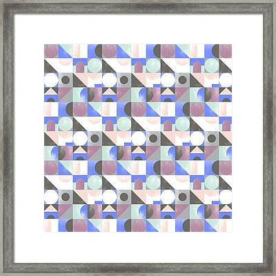 Toy Blocks Small Framed Print by Laurence Lavallee