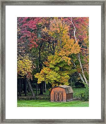 Toy Chest Framed Print by Frozen in Time Fine Art Photography