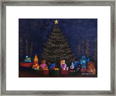 Christmas Toys Framed Print