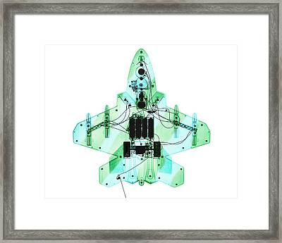 Toy Fighter Plane Framed Print by Brendan Fitzpatrick