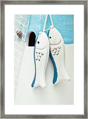 Toy Fish Framed Print
