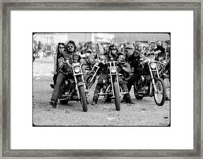 Toy Run Framed Print