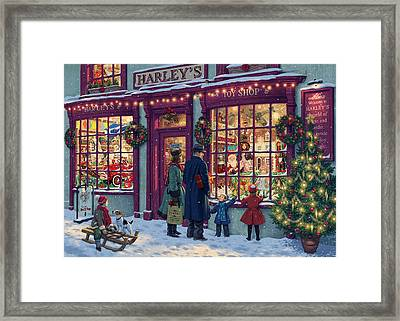 Toy Shop Variant 2 Framed Print by Steve Read