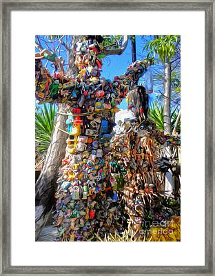 Toy Tree - 01  Framed Print by Gregory Dyer