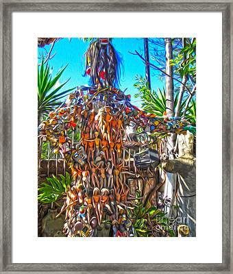 Toy Tree - 04 Framed Print by Gregory Dyer