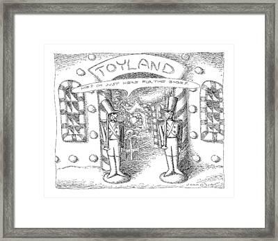 Toyland Framed Print by John O'Brien