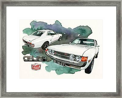 Toyota Celica 1600gt Framed Print