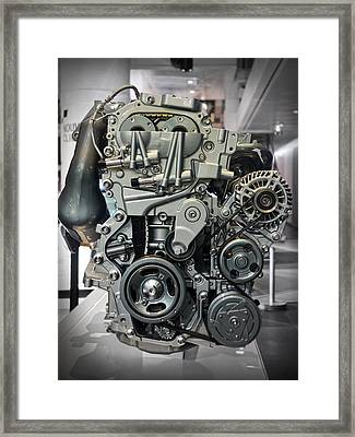Toyota Engine Framed Print by RicardMN Photography