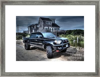 Toyota Tacoma Trd Truck Framed Print