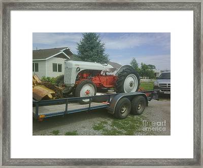 Trac Framed Print by Jeff Pickett