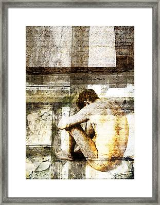 Traces 09 Framed Print by Mark Preston