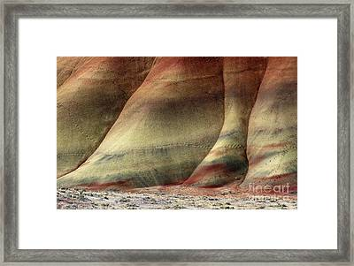 Traces Of Life Framed Print by Mike  Dawson