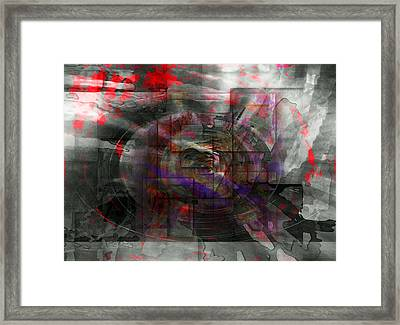 Traces Of Memory Framed Print by Florin Birjoveanu