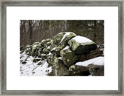 Traces Of The Past Framed Print by Andrew Pacheco