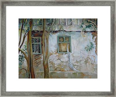 Traces Of Time Framed Print by Elena Oleniuc