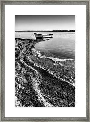 Framed Print featuring the photograph Traces by Okan YILMAZ