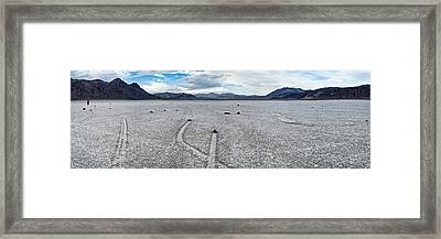 Track Created By One Of The Mysterious Framed Print by Panoramic Images