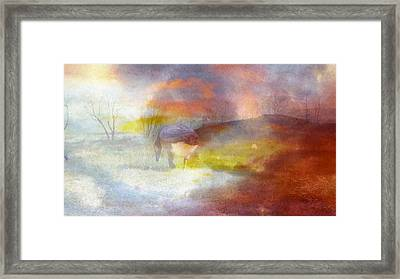 Tracking Fantasies Framed Print by Mike Breau