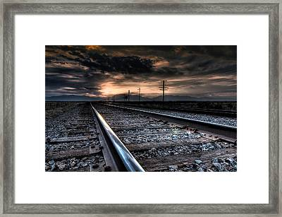 Tracking Sunrise Framed Print