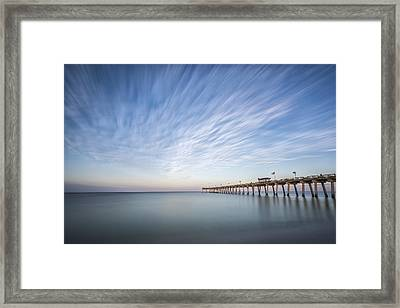 Tracking The Sky Framed Print by Jon Glaser