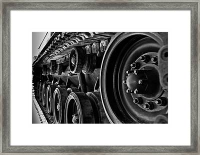 Tracks Framed Print by Mark Alder