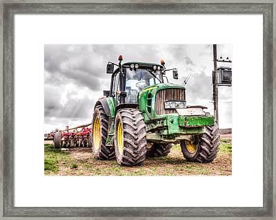 Tractor 2 Framed Print