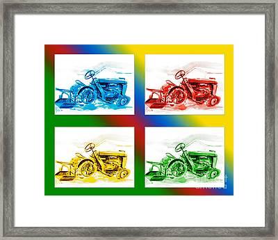 Tractor Mania II Framed Print by Kip DeVore