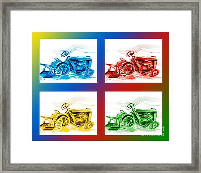 Tractor Mania IIi Framed Print by Kip DeVore