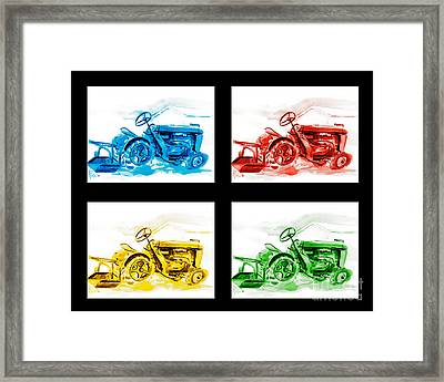 Tractor Mania Iv Framed Print by Kip DeVore