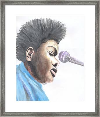 Tracy Chapman 02 Framed Print
