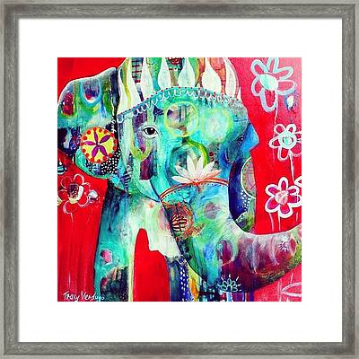 Bringer Of Joy. 2013 Framed Print