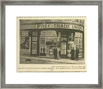 Trade Union Offices Framed Print