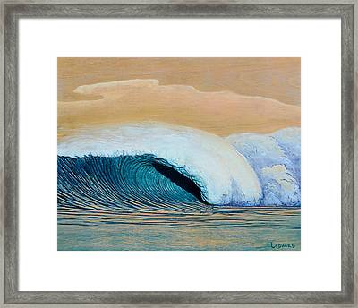 Trade Winds Framed Print by Nathan Ledyard