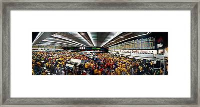 Traders In A Stock Market, Chicago Framed Print