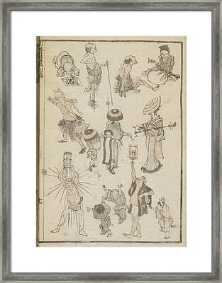 Tradesmen And Entertainers Framed Print by British Library
