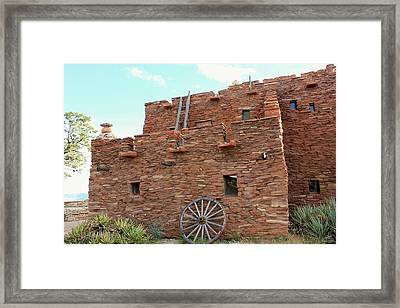 Trading Post Framed Print